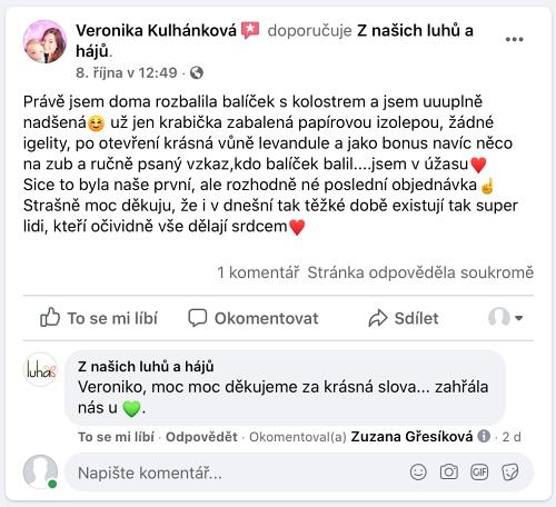 Zpráva od Veroniky