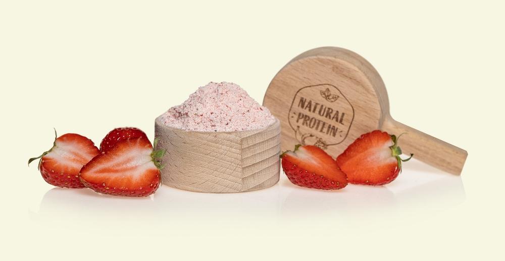 Proteinový nápoj jahoda od NaturalProtein